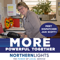 Who are you going to call when the lights go off? Our dedicated dispatchers, that's who. It's one way we're MORE powerful together. Click to see more.