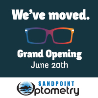 Sandpoint Optometry has a new location at 123 S. Third, Suite 1. Join Dr. Whitney and Don Henker for their Grand Opening! See more»