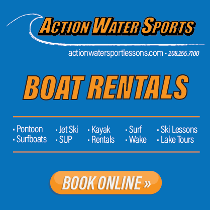 Action Water Sports offers lessons and rentals on Lake Pend Oreille from Olympian-World Cup athletes Pat and Nate Holland. Click to see more.