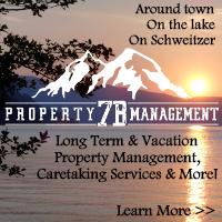 7B Property Management - Long term and vacation rentals in Sandpoint, on the lake and Schweitzer. Property management and much more.