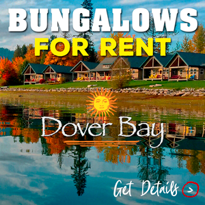 Book a bungalow! Dover Bay Bungalows are close to all things things you love about Sandpoint - the lake, the mountains, the skiing, and downtown happenings. Book your stay today!