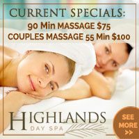 Highlands North Day Spa Salon in Sandpoint offers a variety of massage techniques to soothe and relax. To see more, click�