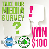 What local media are YOU reading, watching, listening to? Take the Local Media Survey. For your 5 minutes, you could WIN $100 of food and drink. Click»