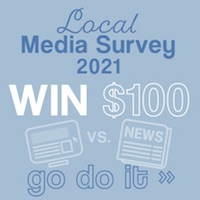 What do YOU think of local media? Take the 7th annual survey... plus you could win $100 at Eichardt's and MickDuffs. Go do it»