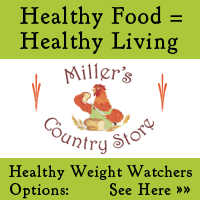 Miller's Country store offers healthy food choices plus delectable meals with low Weight Watchers points. Go see�