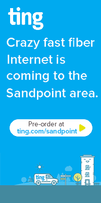 Greater Sandpoint is getting crazy fast, fiber optic Internet from Ting! Upload and download speeds will top out at 1,000 MBPS - fastest speeds ever offered in our area. Click for details»
