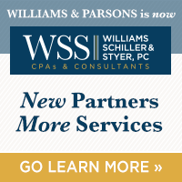 Williams and Parsons is now WSS CPAs ... with new partners and expanded services. Click to see more about our name change and meet the partners»
