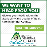 Bonner General Health wants to hear from you. Please click here to take a survey. This will help BGH continue to provide quality, compassionate care.
