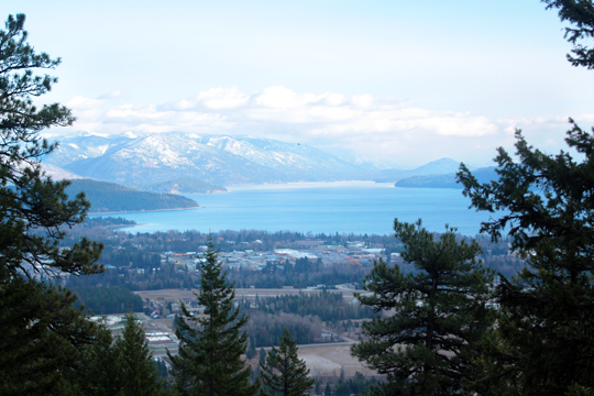 Mickinnick Trail hike in Sandpoint Idaho