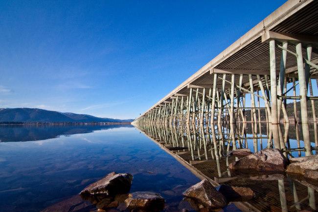 Long Bridge Sandpoint Idaho